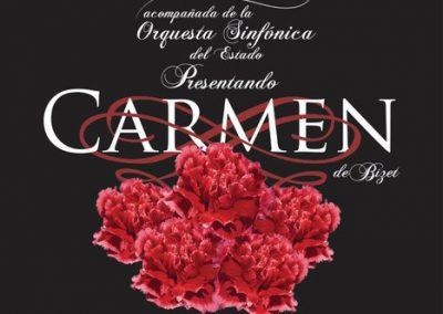 poster CARMEN BALLET CAMARA QROO